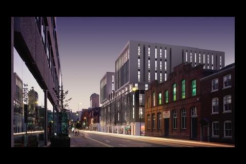 Exterior of the Hive building planned for Manchester